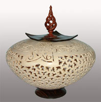 Oriental Bowl - Sculptural Form