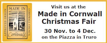 Made In Cornwall Christmas Fair 2016 - Truro